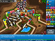 Игра Bloons Tower Defense 4