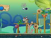 Игра Губка Боб и Патрик: разрушители пузырьков