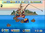 Игра Атака рыбацской лодки