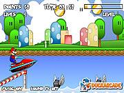 Игра Марио Jet Ski
