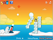 Игра Shoot The Penguin