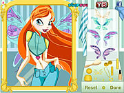 Игра Winx Club Bloom MakeOver