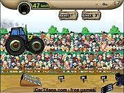 Флеш игра Прыгающий Трактор