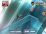 Игра Первое приключение велосипеде паука Ice велосипед