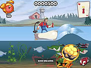 Игра Super Dynamite Fishing