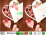 Игра Valentine's Day 5 Difference