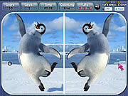 Игра Happy Feet Spot the Difference