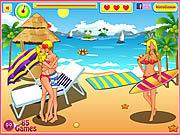 Игра Солнечные ванны Поцелуи