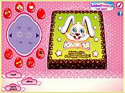 Игра Пасхальный заяц торт