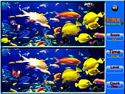 Игра Fish Spot the Difference