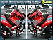 Игра Мотогонки - Найти отличия