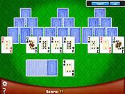 Игра Vegas Solitaire TriPeaks