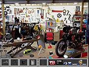 Игра Найти предметы - Велосипед
