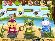Игра Детские Дино - Детский сад