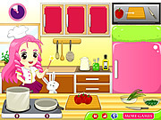 играть в игру Игра Кухня