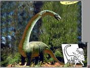 Игра Нарисуй динозавра