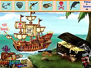 играть в игру Игра Найти предметы   Пиратский остров