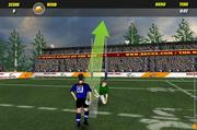 Rugby drop kick champ