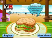 Игра BBQ Chicken Sandwich