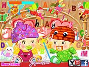 Игра Детские скрытые буквы
