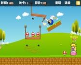 Игра Mario побежал к принцессе