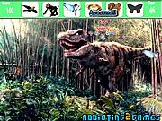 играть в игру Игра Найти предметы   лес динозавров