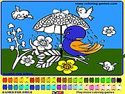 Игра Раскраска - Птицы