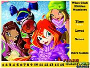 играть в игру Игра Клуб Винкс   Скрытые номера