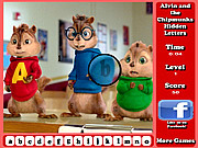 Игра Alvin and the Chipmunks Hidden Letters