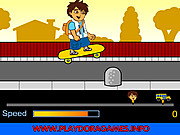 Игра Диего на скейтборде