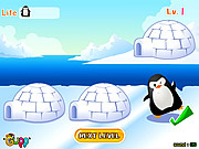 Игра Find Penguin