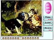 Игра Непослушные котята. Скрытые цифры
