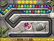 Игра Дракон и цветные шарики