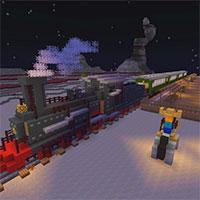 Игра Майнкрафт Поезда