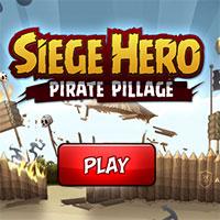 Игра Герой осады: Пиратский грабеж