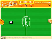 Игра Garfield Tabby Tennis