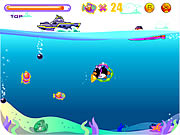 Игра Penguin Dive