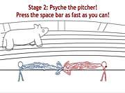 Игра Супер шальной маниак бейсбола люкс игра
